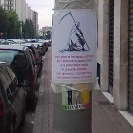 S. Giuliano, minacce a chi spaccia in piazza
