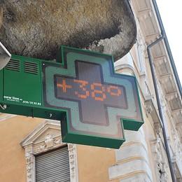 Temperature vicine a 40 gradi