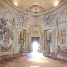 Maleo, affiorano affreschi del 1500