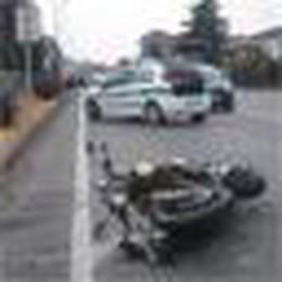 Melegnano, due motociclisti gravi dopo un incidente