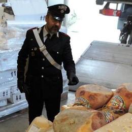 Furti nelle ditte: il tesoro dei ladri  trovato dai carabinieri a Belfuggito