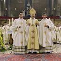 La Diocesi di Lodi abbraccia don Riccardo e don Andrea