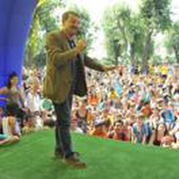 Giacomo Poretti alla festa Grest con 1600 ragazzi lodigiani
