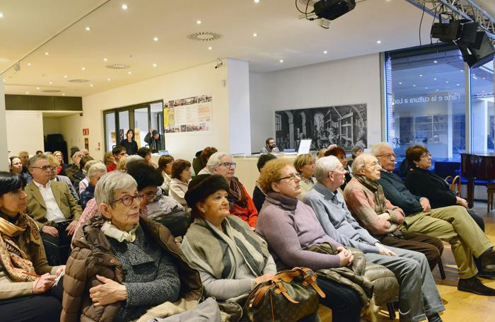 Il pubblico all'evento della Monsignor Quartieri