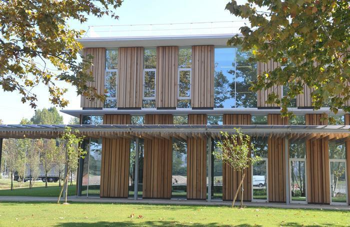 """L'ingresso del nuovo """"campus"""" oltre la tangenziale"""
