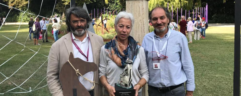 """Giocando si coltiva l'animo: l'installazione lodigiana vince la """"gara"""" di Orticolaria"""