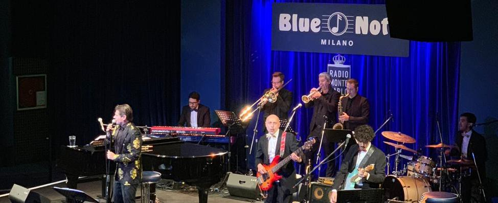 """Signoroni-show al """"Blue Note"""""""