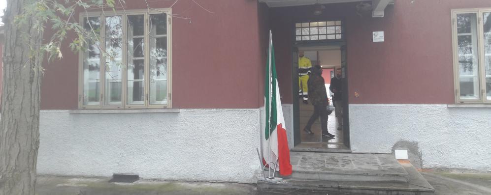 Taglio del nastro a Casaletto per la nuova sede della Protezione civile