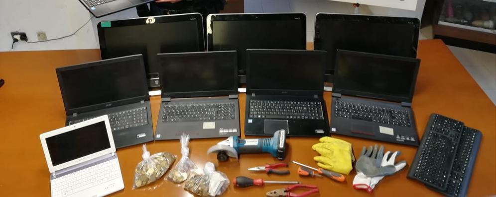 Lodi Vecchio, ritrovati a Treviglio i computer rubati alla scuola media