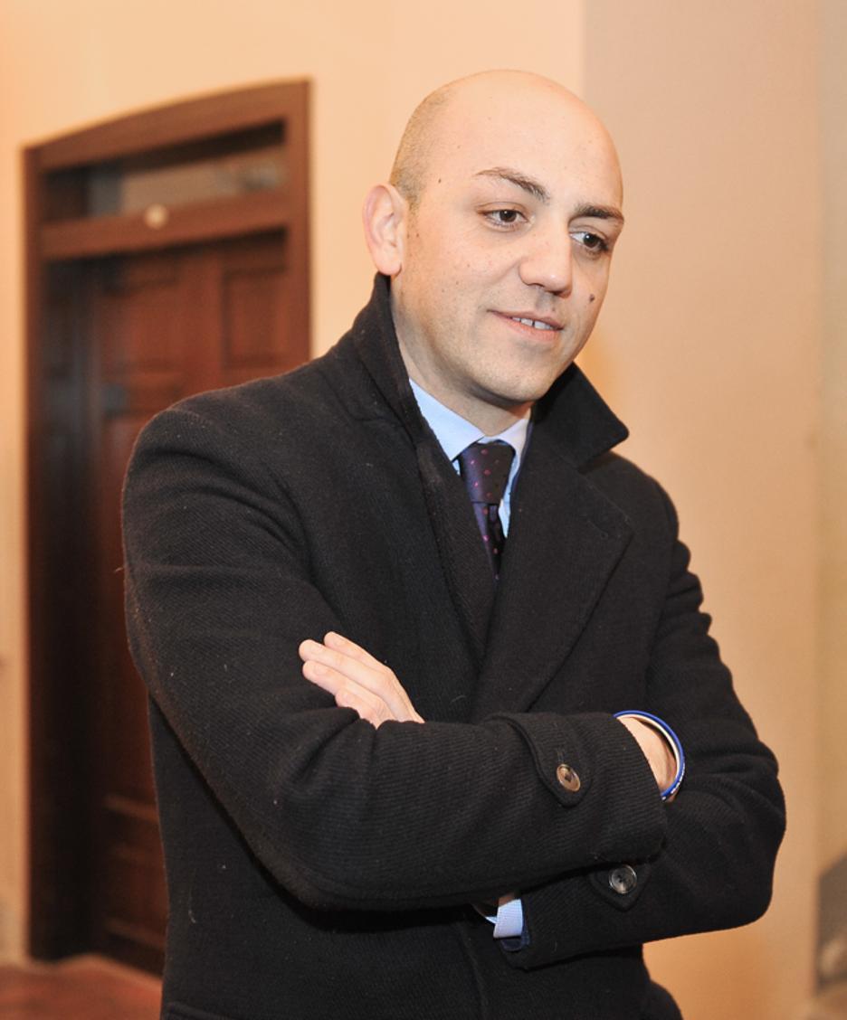 Il neo presidente della Provincia di Lodi, Francesco Passerini