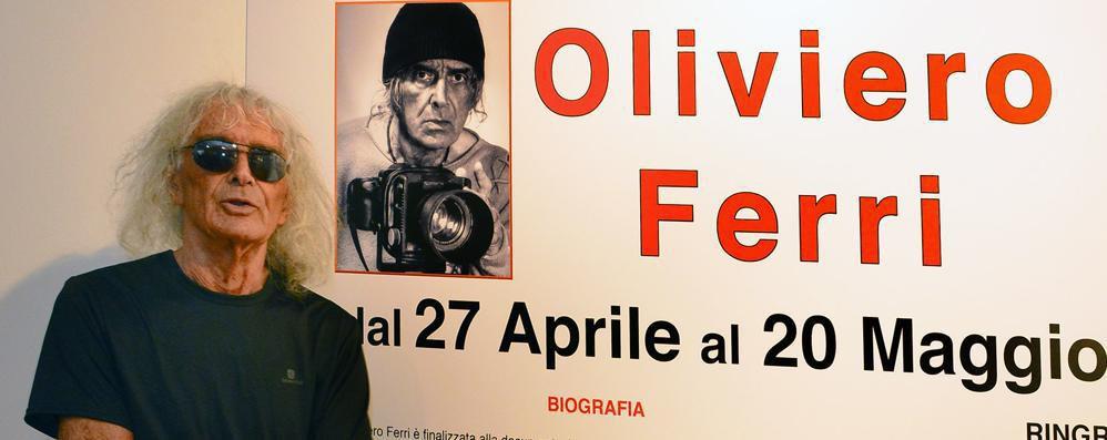 Oliviero Ferri, il viaggio tra le emozioni di «un fotografo per passione»