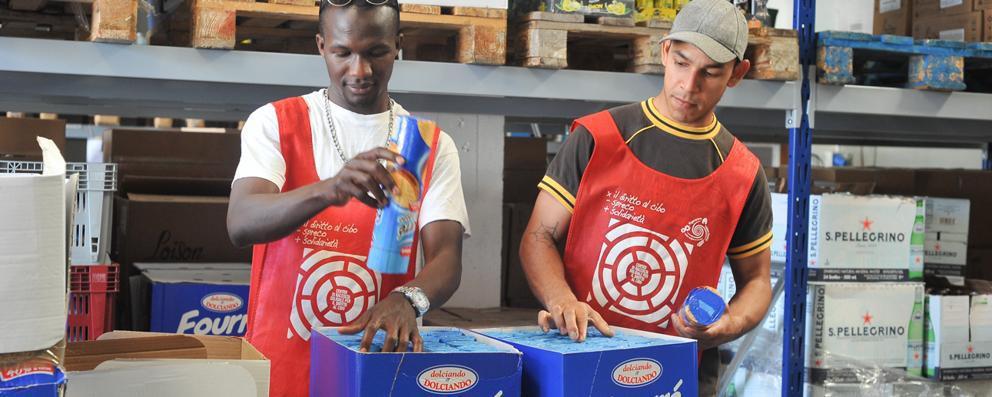 Centro raccolta solidale del cibo: aumentano le donazioni