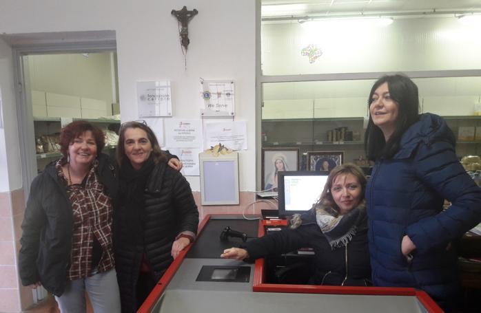 L'emporio Don Gnocchi di San Colombano