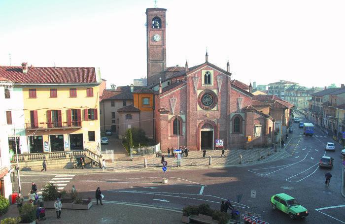 Melegnano, basilica di San Giovanni Battista