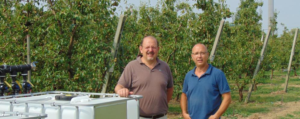 Scanner e droni per il sistema di irrigazione ecosostenibile
