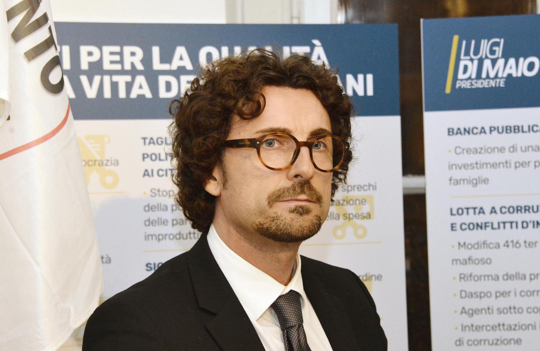 Il ministro alle Infrastrutture Danilo Toninelli