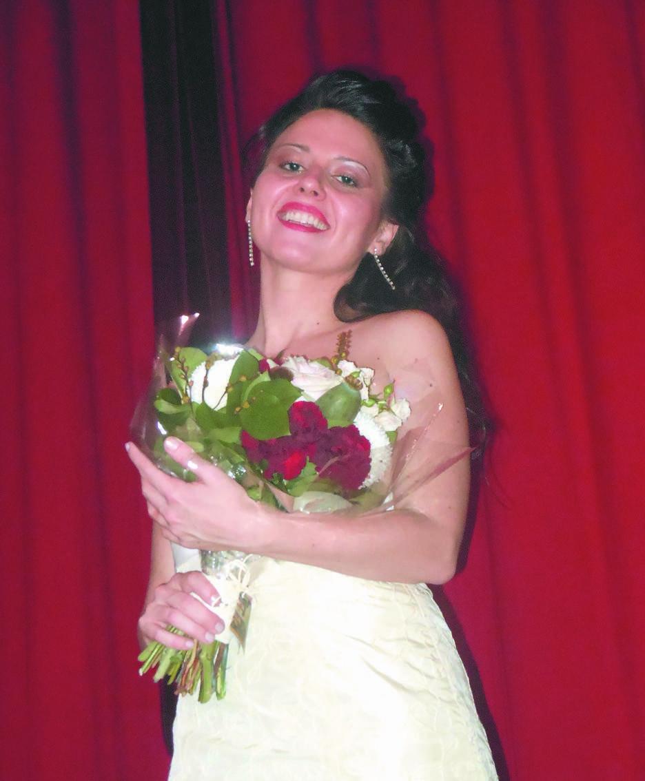 Il soprano Elisa Maffi