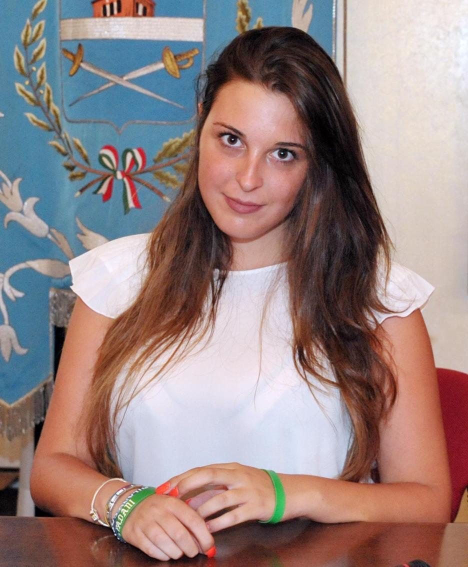 L'assessore agli Eventi Nicole Marnini