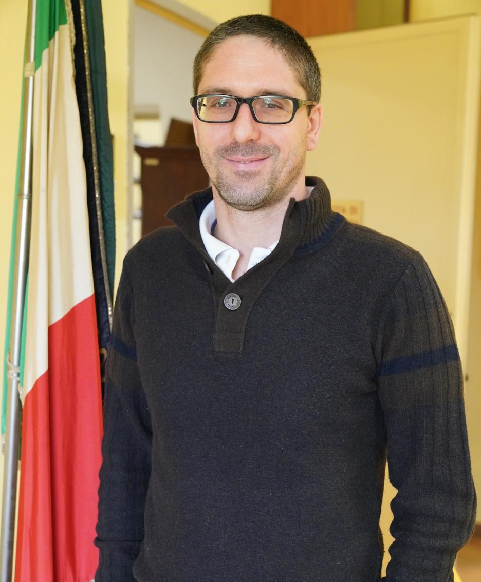 Il sindaco Saltarelli