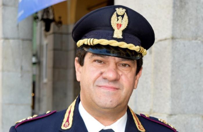Il vice questore Angelo Sais, a capo dell'ufficio immigrazione