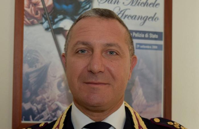 Il vice questore alla guida della divisione Anticrimine Andrea Rosiello