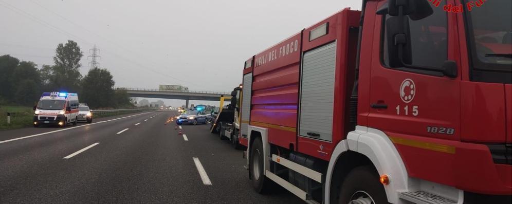 Incidente in A1 tra Casale e Guardamiglio, ripercussioni anche sulla Via Emilia