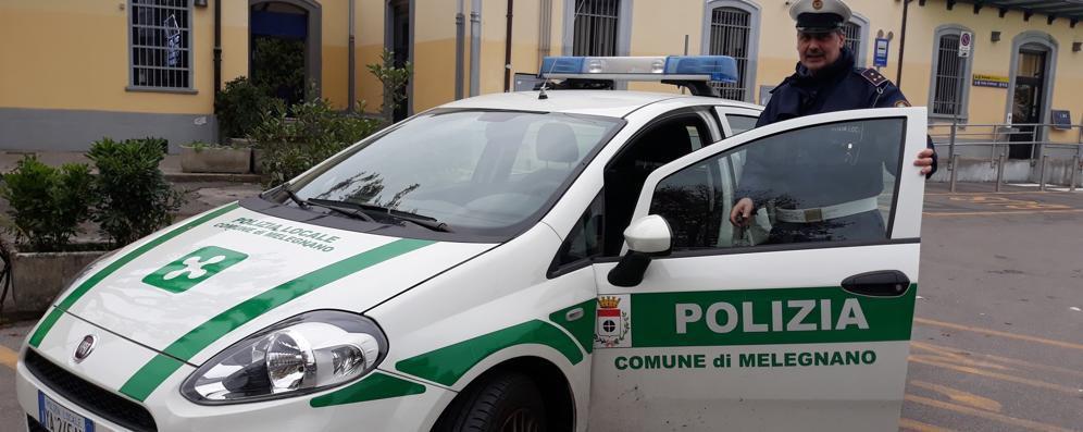 Sosta selvaggia a Melegnano, giro di vite della polizia locale