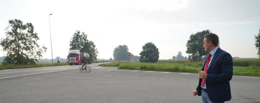 Secugnago, all'orizzonte una rotonda sulla via Emilia