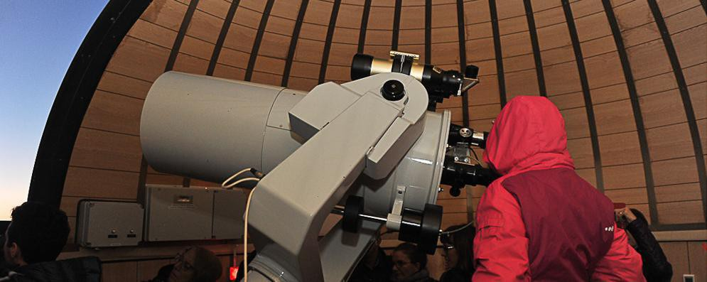 L'osservatorio astronomico provinciale festeggia i suoi primi vent'anni