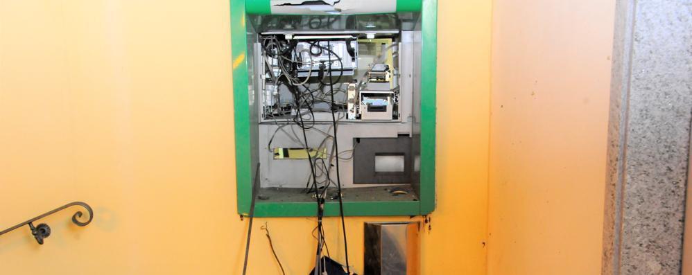 Un altro bancomat fatto esplodere a Sant'Angelo: è il secondo in pochi giorni