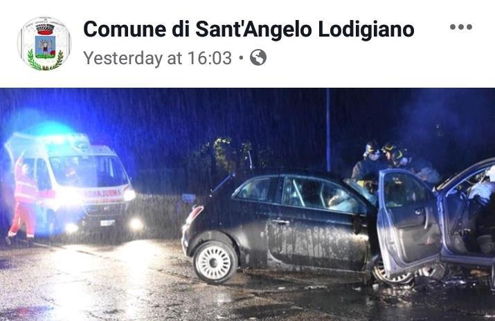 Il profilo Facebook del Comune di Sant'Angelo Lodigiano