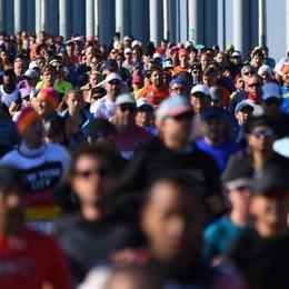 Cerioli e Granellini dalla bici alla maratona