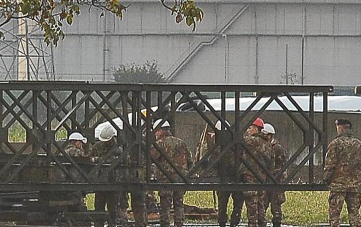 Maxi esercitazione: 50 militari dell'esercito impegnati fra Montanaso e Caselle Landi