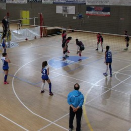 Un set interminabile per la vittoria del Blu Volley