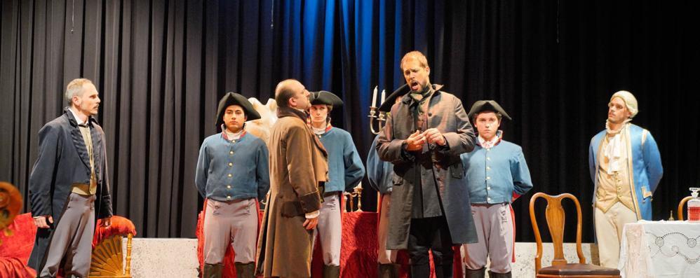 """""""Tosca"""" sempre più intensa e appassionata: sul palcoscenico anche gli studenti del Tondini"""