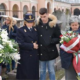 Morto nell'incidente in servizio, la polizia stradale ricorda Giuseppe Beolchi