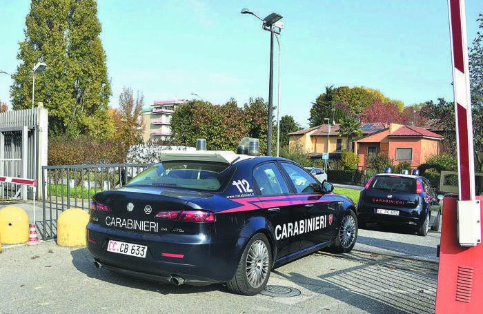 È intervenuto il nucleo radiomobile dei carabinieri di Lodi