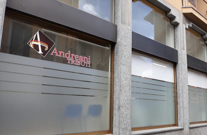 La sede della società Andreani