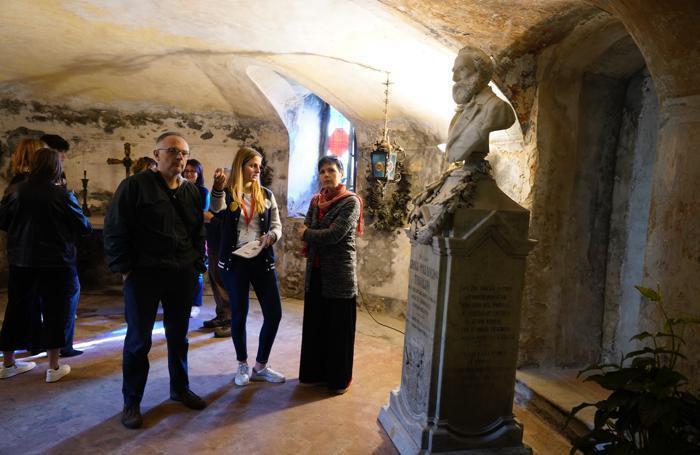 La cripta Pallavicino a San Fiorano
