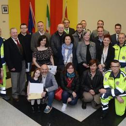 La protezione civile di Lodi Vecchio ha festeggiato i suoi 25 anni