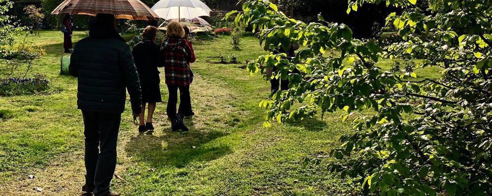 Massalengo, boom di visitatori a villa Premoli per il giardino d'Europa