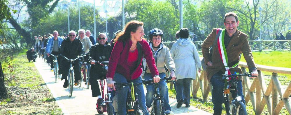 Da San Donato a Peschiera adesso si va in bici