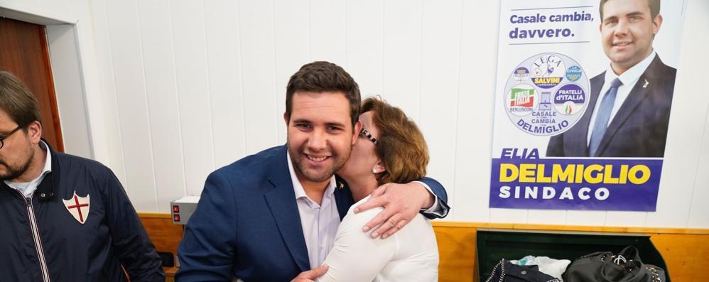 Delmiglio sindaco  per 25 voti