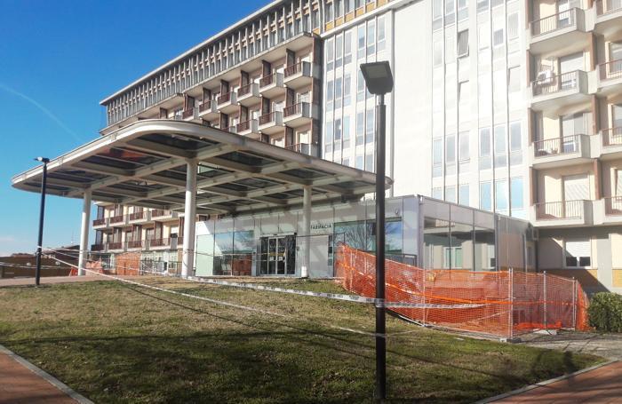 L'ospedale di Casale