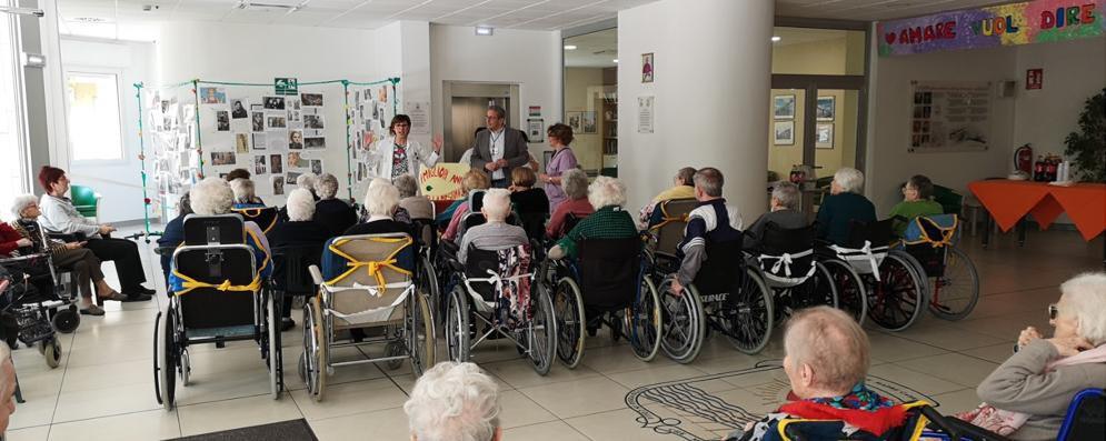 Visite mediche e poliambulatori, nuovi servizi nella casa di riposo di Sant'Angelo