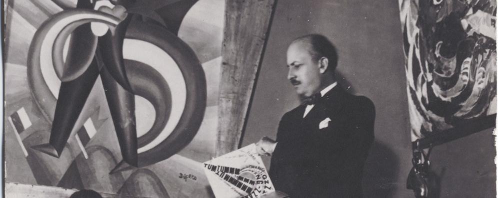Marinetti, il futurismo a Lodi