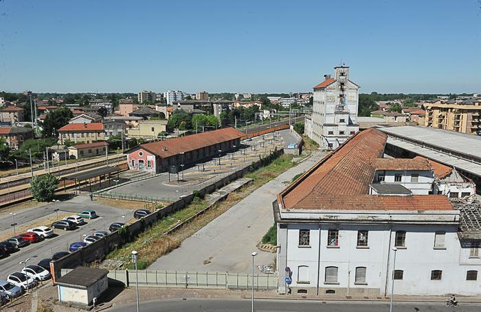 Lodi. gUn'altra immagine aerea dell'area