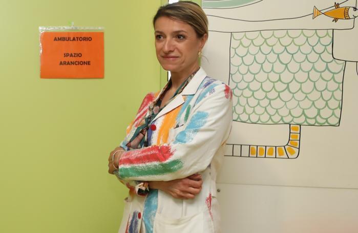 La primaria di pediatria Roberta Giacchero
