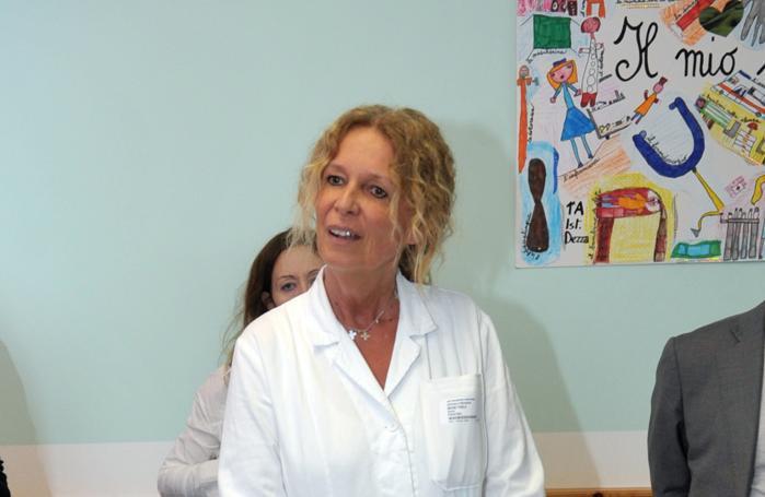 La primaria della  pediatria di Vizzolo Paola Bruni