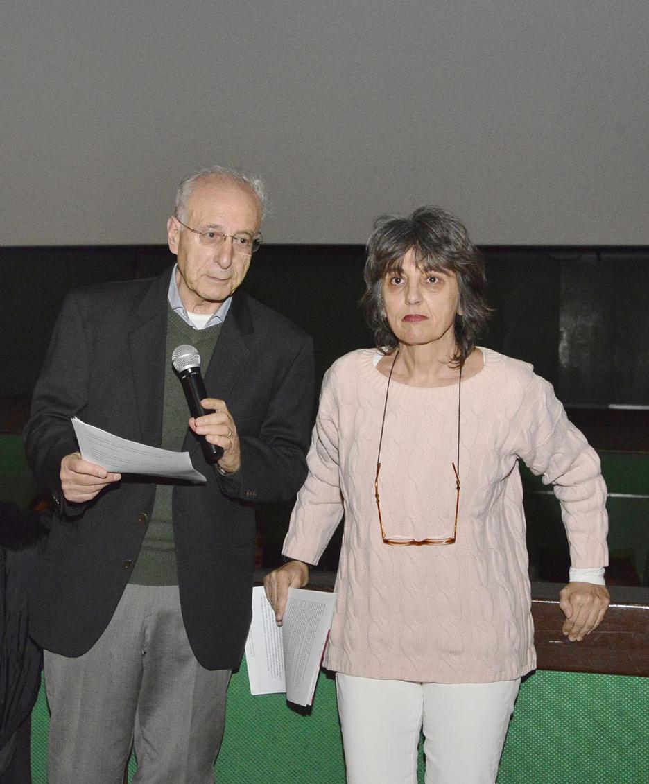 Laura Coci con Ercole Ongaro